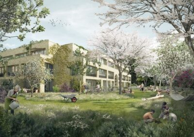 De Verbinding Amsterdam; Hoe ontwerp je een natuur inclusieve tuin met de nieuwe kopers